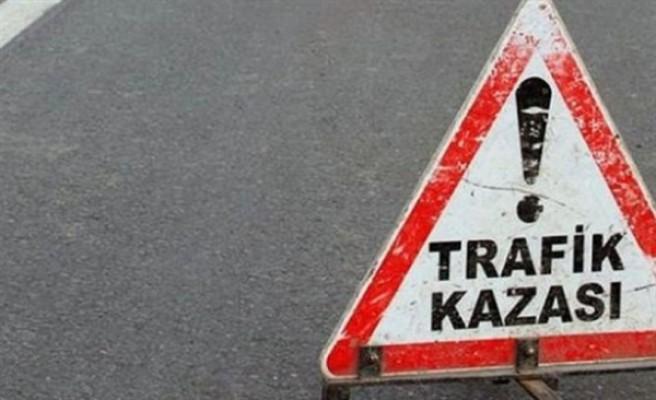 Lefkoşa'da meydana gelen kazada 3 kişi yaralandı