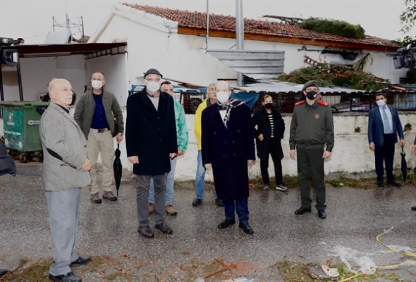 Tatar, Ozanköy'de incelemelerde bulundu...
