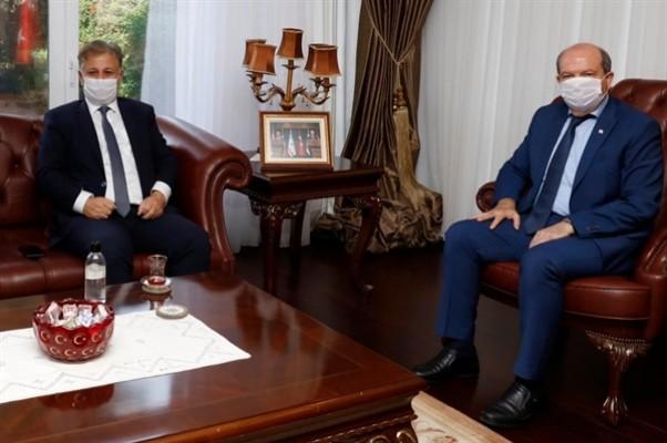 Tatar, sağlık konusundaki gelişmeler hakkında Pilli'den bilgi aldı