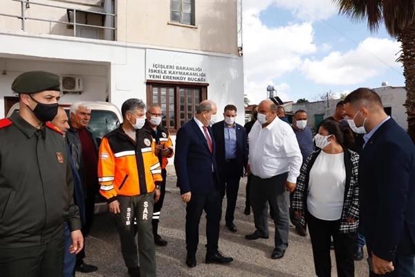 Tatar Ziyamet, Yeşilköy ve Yeni Erenköy'de incelemelerde bulundu