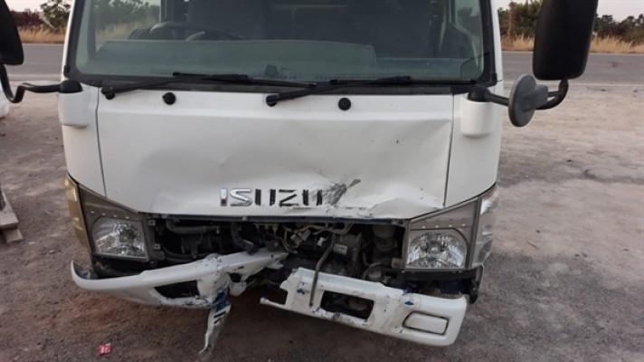 Tatlısu'da trafik kazası
