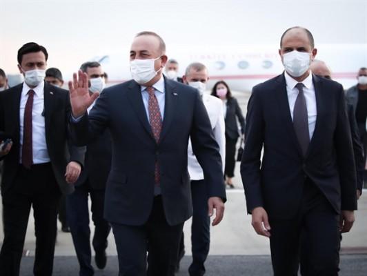 Türkiye Dışişleri Bakanı Çavuşoğlu KKTC'de