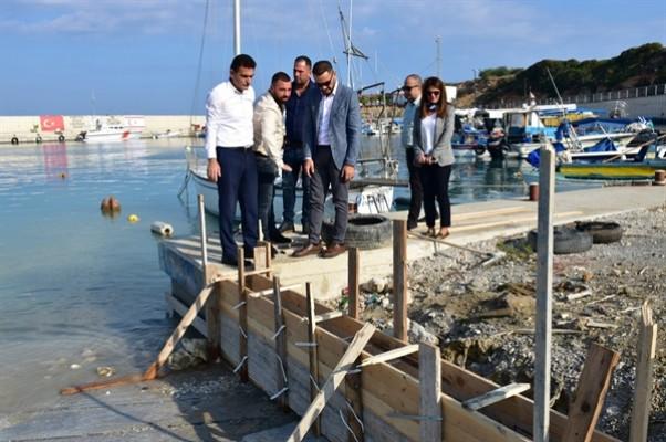 Yenierenköy ve Kumyalı Balıkçı barınakları yeniden düzenleniyor