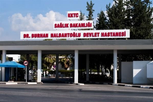 Dr. Burhan Nalbantoğlu Devlet Hastanesi'nde yeni vaka yok