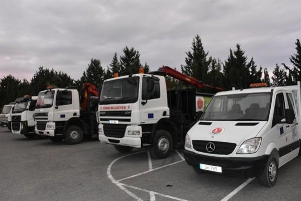 """""""Girne belediyesi, araç filosunu genişletti"""""""