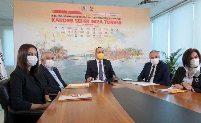Lefkoşa ile İstanbul kardeş şehir oldu