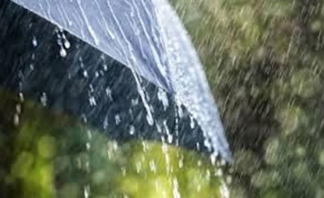 Salı gününe kadar hava yağmurlu...