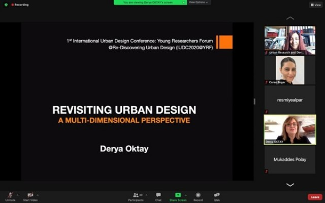 """""""Uluslararası kentsel tasarım konferansı"""" tamamlandı"""