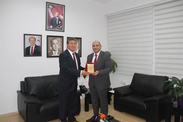 Üstel, Ulaştırma Bakanlığı görevini Atakan'dan devraldı