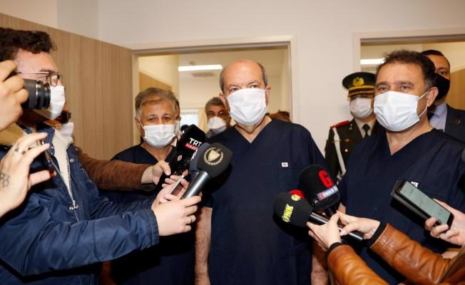 İlk aşılar Tatar, Saner ve Pilli'ye yapıldı
