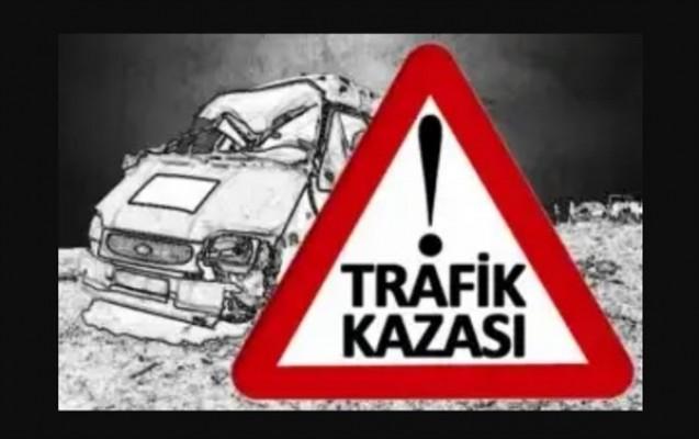 Lefkoşa - Gazimağusa anayolunda araç takla attı