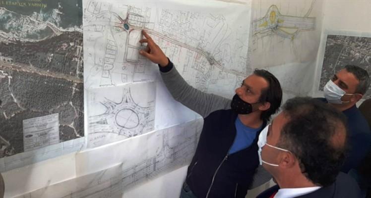 Saner, Girne –Alsancak Yolu 1. Etap projesini inceledi