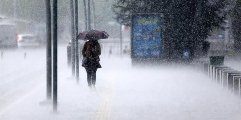Şiddetli yağış ve fırtına uyarısı!