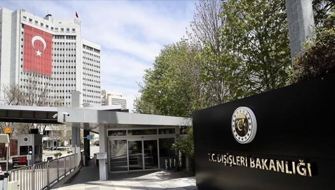 ABD Büyükelçisi TC Dışişleri Bakanlığı'na çağrıldı