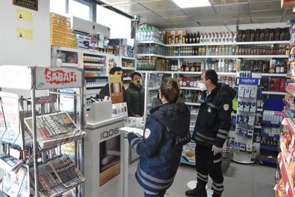 Girne belediyesi, açık iş yerlerini denetliyor
