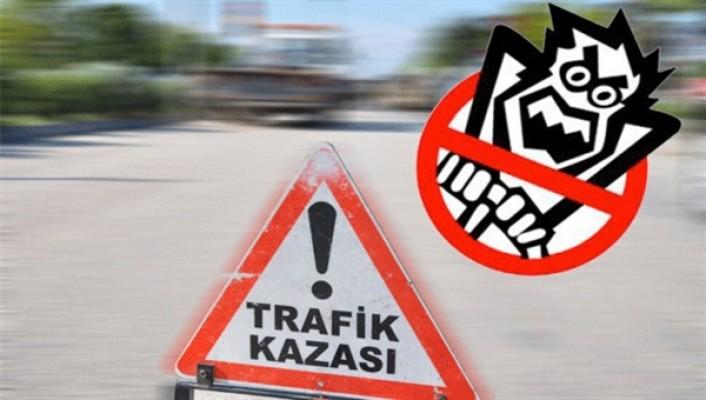 Gönyeli çemberinde trafik kazası…