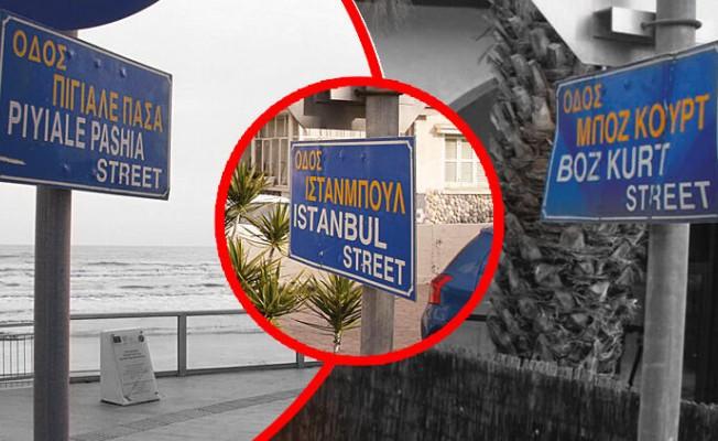 Rum yönetimi Türkçe sokak adlarını siliyor