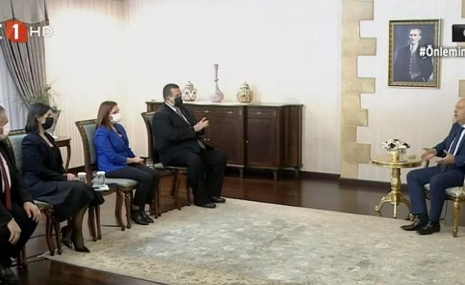 Tatar: Koronavirüste pik noktası 7 Şubat'ta yaşanacak