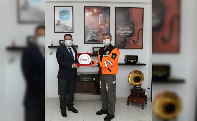 Başbakan Saner, Sivil Savunma'yı ziyaret etti...