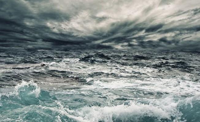 Denizde fırtına uyarısı!