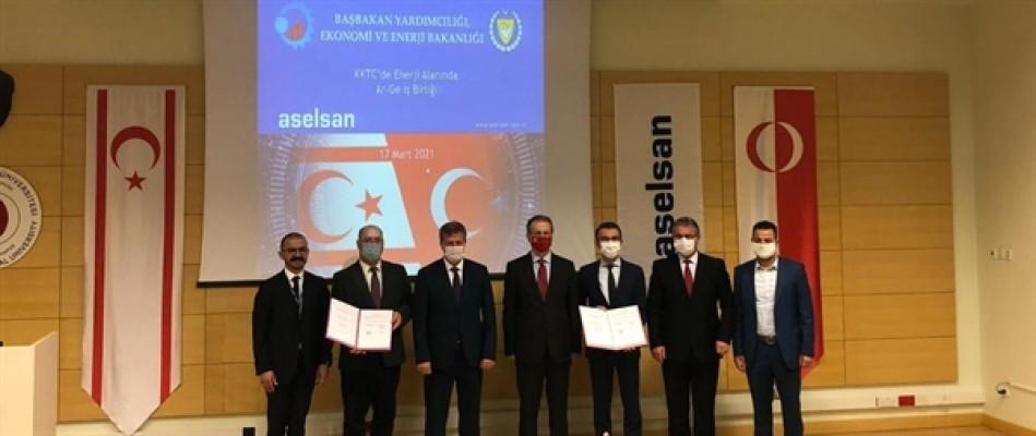 Ekonomi ve Enerji Bakanlığı ile ASELSAN arasında protokol!