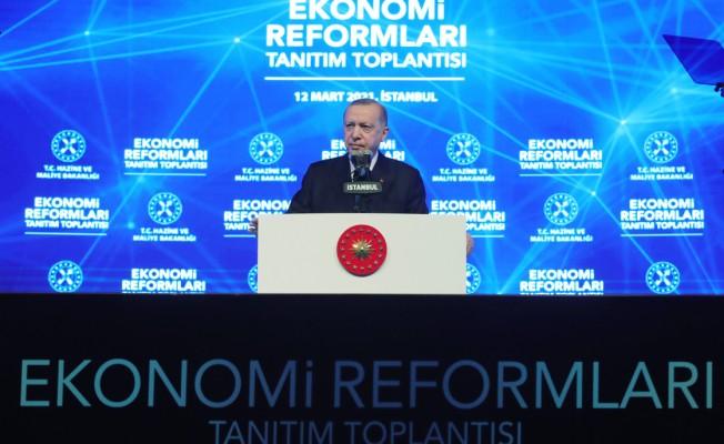 """""""Ekonomik reform paketimiz, Türkiye'yi geleceğe taşıyacak"""""""