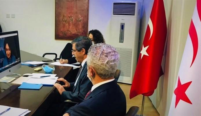 Ertuğruloğlu, Di Carlo ve Lacroix ile görüştü