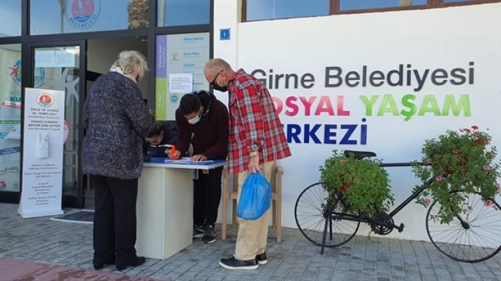 Girne Belediyesi, ikinci doz aşılama işlemlerine başladı...