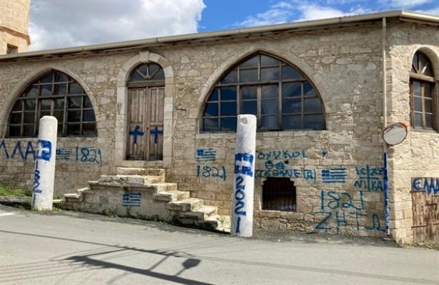 Güney'de camiye çirkin saldırı