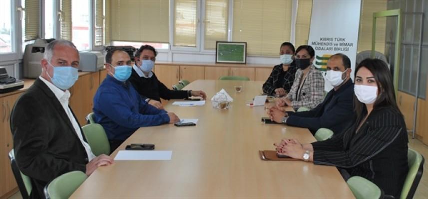 Halkın Partisi KTMMOB'yi ziyaret etti