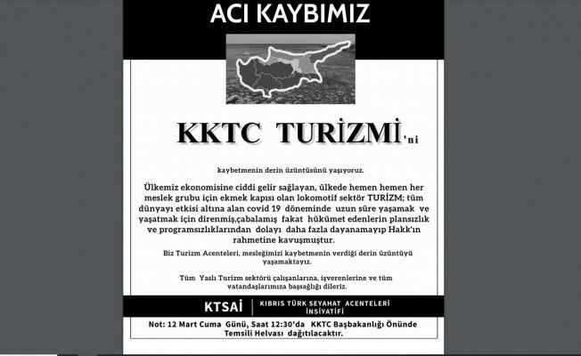 KTSAİ, ölüm ilanı verdiği Turizm sektörü için helva dağıtacak!