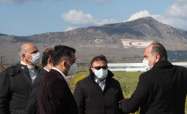 Lefkoşa'ya 500 yataklı hastane için teknik çalışmalar başladı...