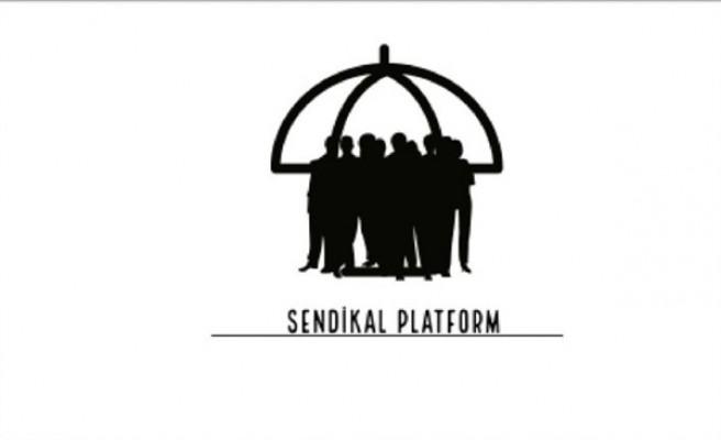 Sendikal Platform Arıklı'yı eleştirdi