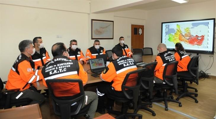 Sivil Savunma Tsunami Tatbikatı 2021'e katıldı