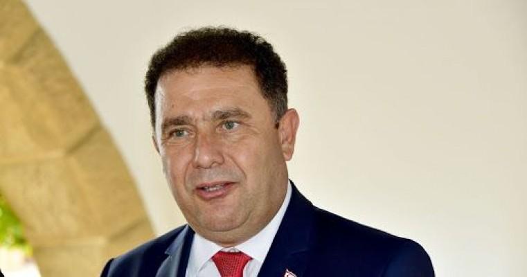Başbakan Saner'den Anastasiadis'e tepki