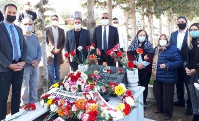 Berberoğlu ölümünün 19'uncu yıl dönümünde anıldı