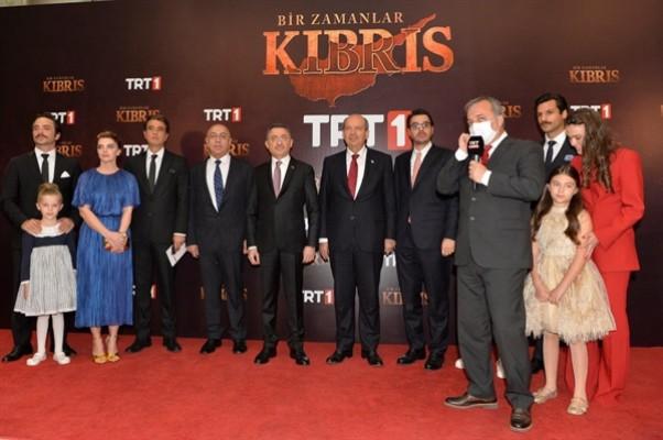 """""""Bir Zamanlar Kıbrıs"""" dizisinin galası yapıldı"""