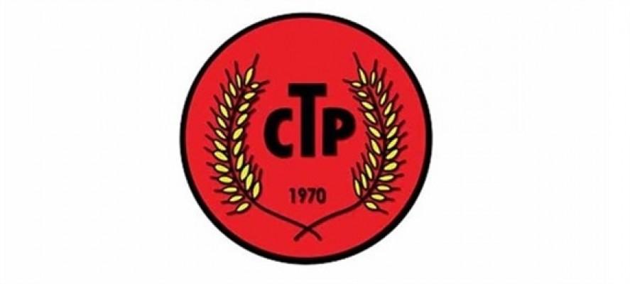CTP'den Cumhurbaşkanı Tatar'a çağrı