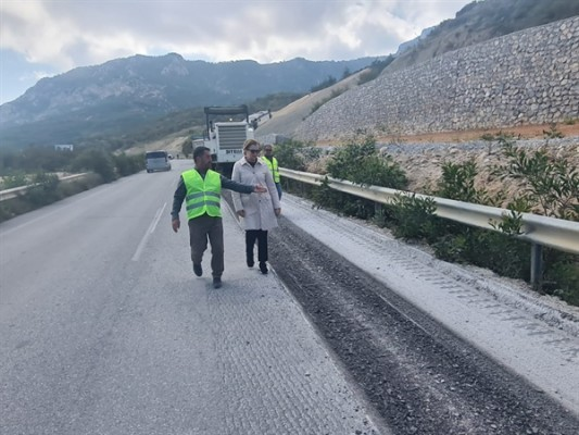 Değirmenlik- Çatalköy yolundaki hasar giderildi