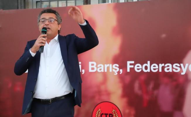 Erhürman: Çözümü de federasyonu da biz yapacağız