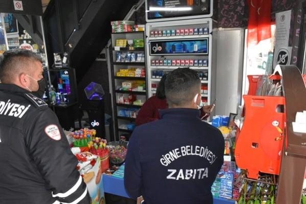 Girne Belediyesi 273 iş yeri denetledi…