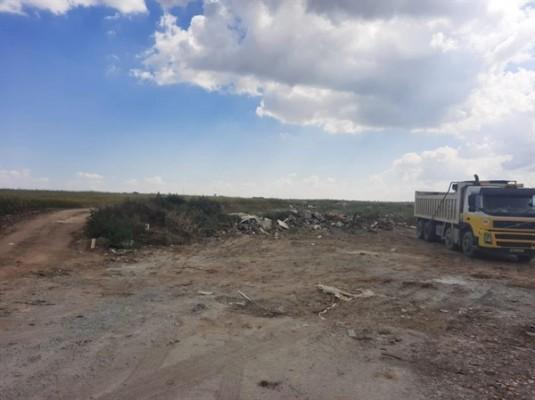 Gönyeli'de 10 kamyon atık temizlendi