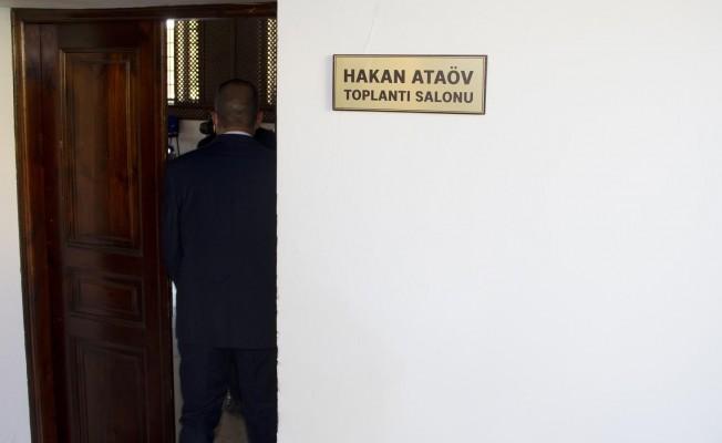 Hakan Ataöv'ün ismi Turizm Bakanlığı toplantı salonuna verildi