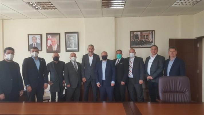 İŞAD Heyeti Kalkınma Bankası'nı ziyaret etti