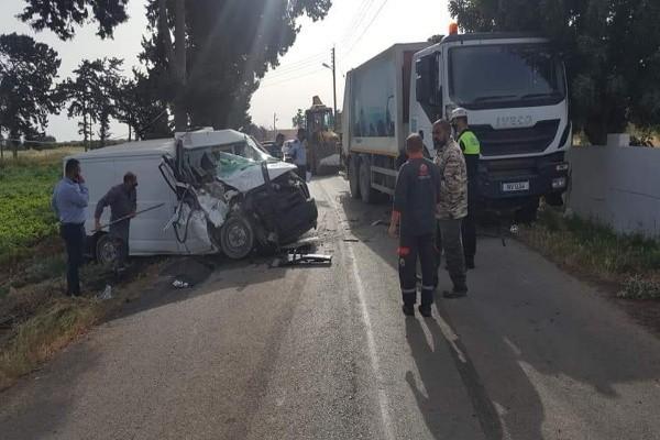 Mehmetçik -Yedikonuk yolunda kaza
