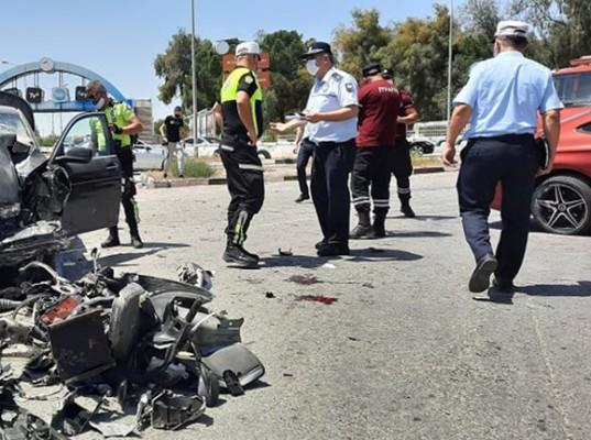 Motosiklet sürücüsü ağır yaralı