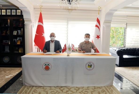 Sivil Savunma ile Lefke Belediyesi işbirliği protokolü imzaladı