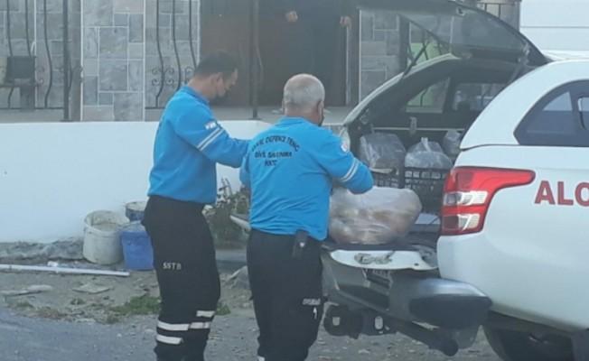Sivil Savunma Teşkilatı Başkanlığı İftar yemeği dağıttı