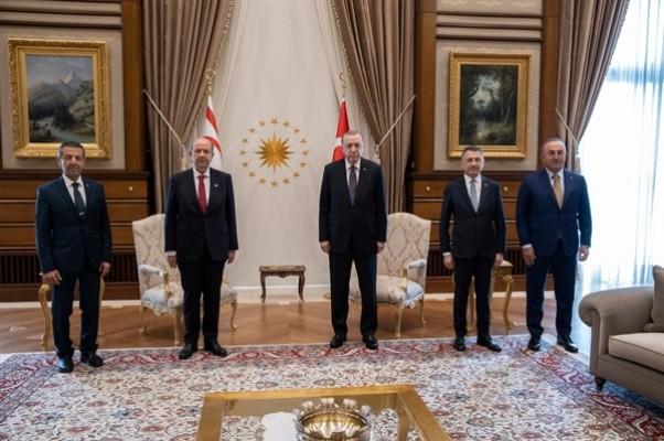 Tatar, Erdoğan ile görüşüyor...