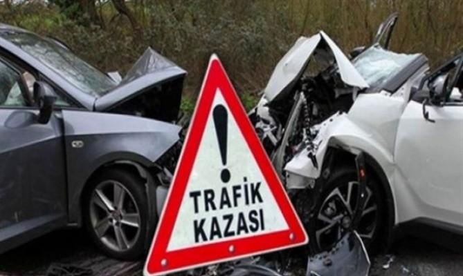 Bir haftada 44 trafik kazası, 13 yaralı